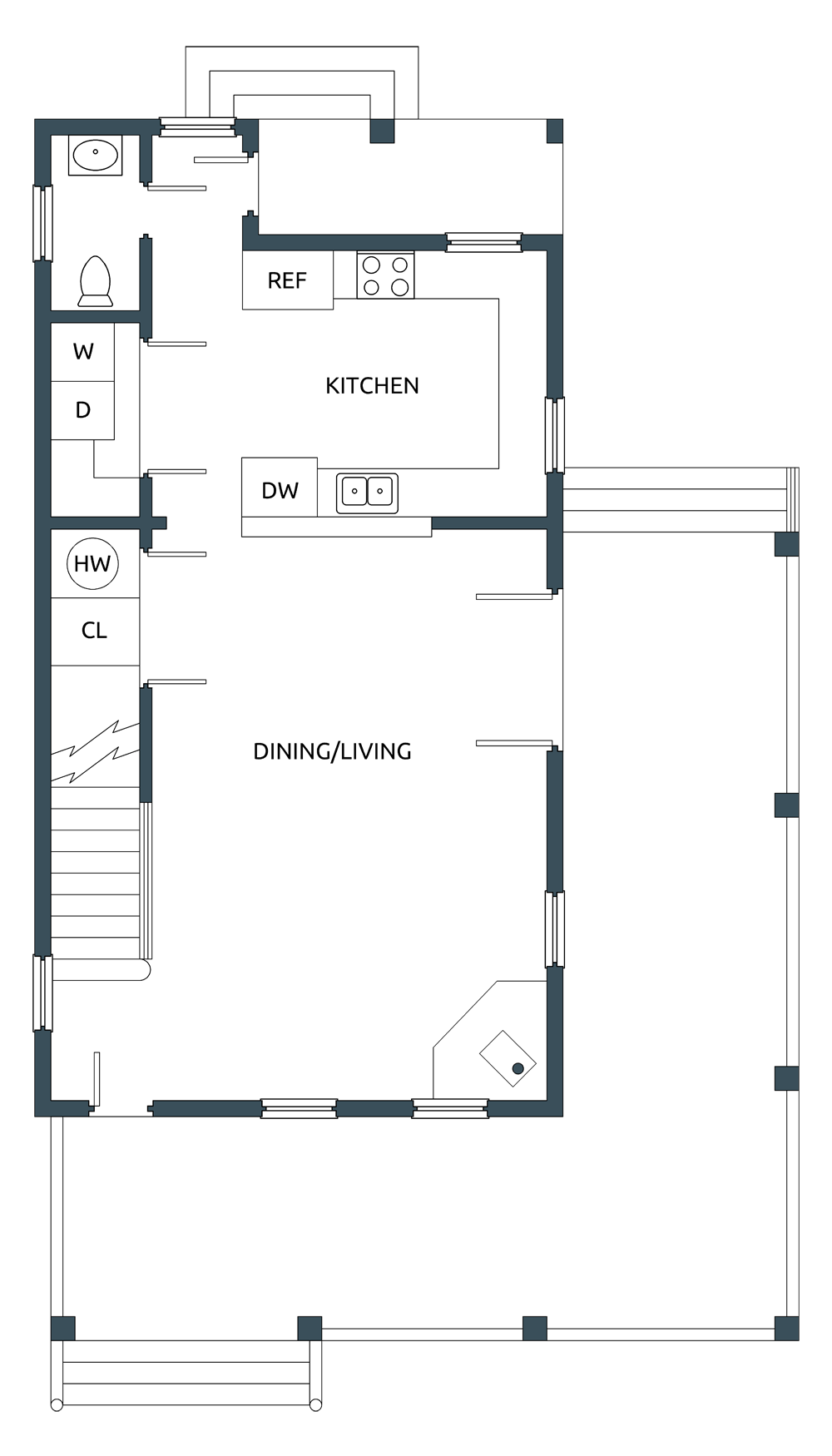 Image Gallery together with New Modern And Countrycottage House Plans further Eod houseplans likewise Small cottage fr further Events. on cottage floor plans
