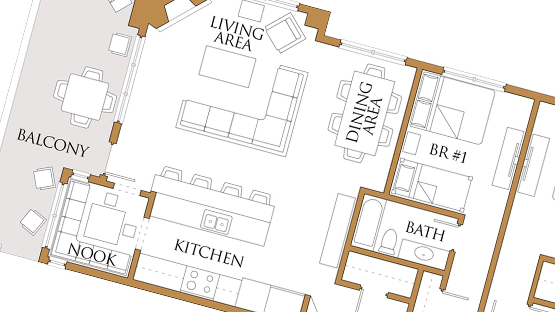 Home floor plan marketing for Interactive floor plan map